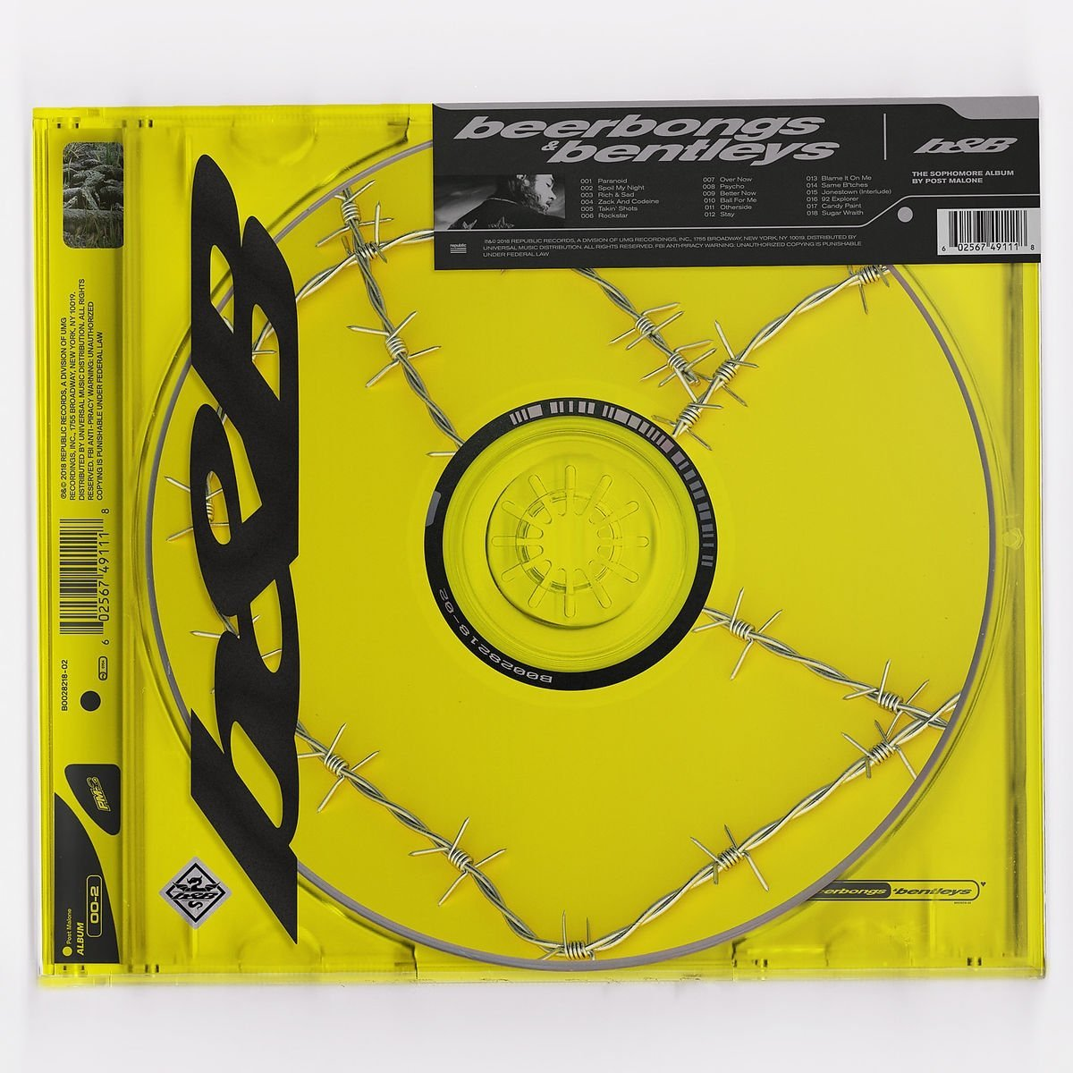 Post Malone - Beerbongs & Bentleys (CD)